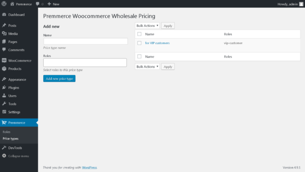 Premmerce WooCommerce Wholesale Pricing