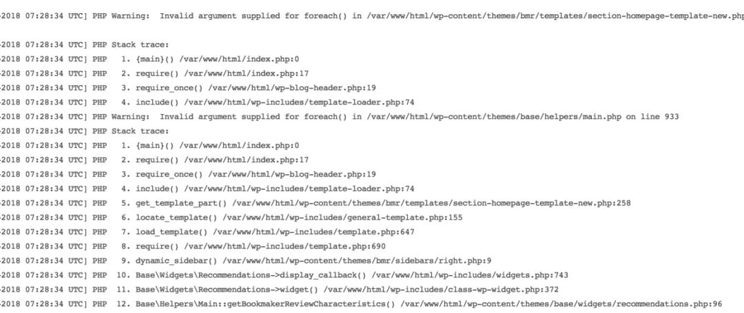 Отладка кода через бэктрейс — debug_backtrace()