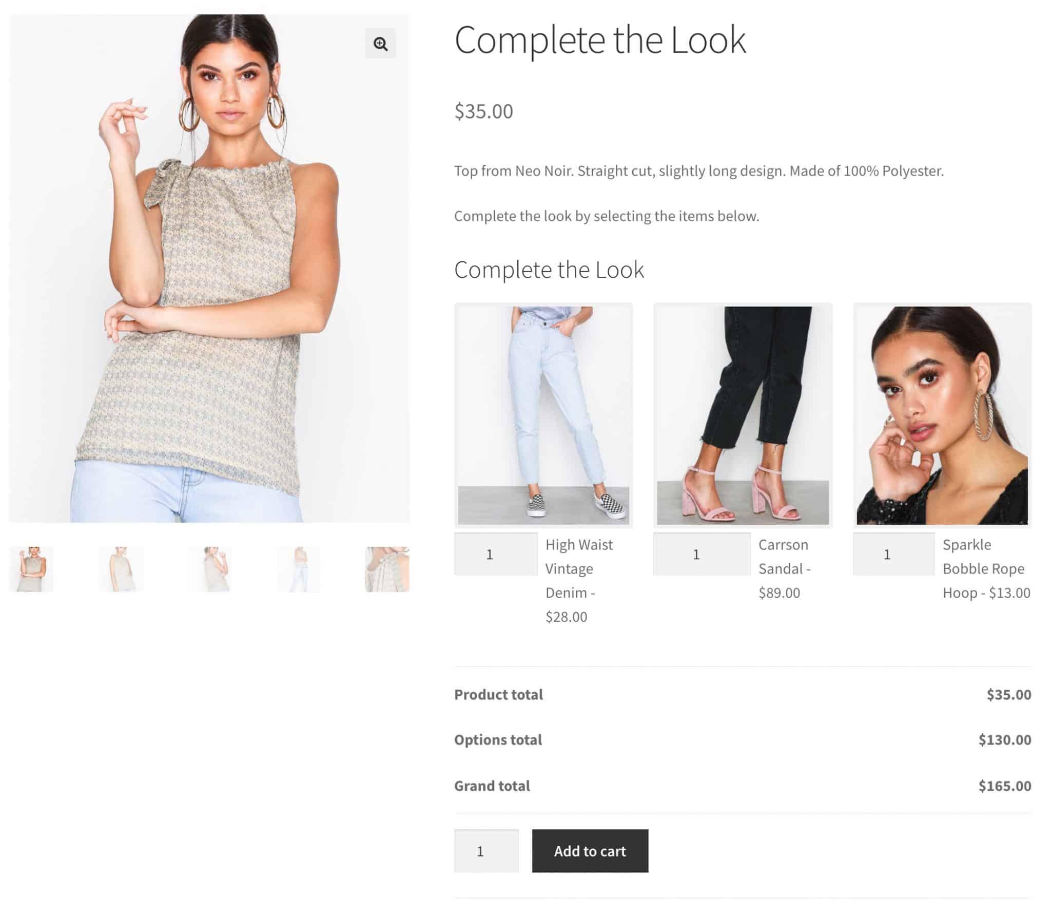 Как добавить в корзину сразу несколько товаров в WooCommerce?